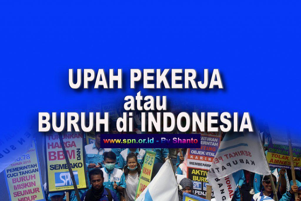 UPAH PEKERJA/BURUH di INDONESIA