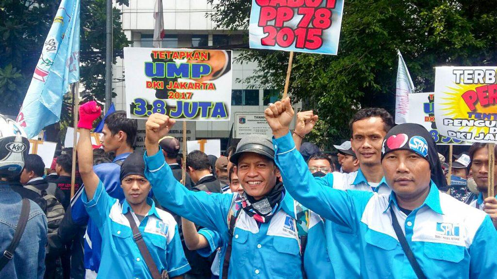 SIDANG DEWAN PENGUPAHAN DKI JAKARTA MASIH BUNTU