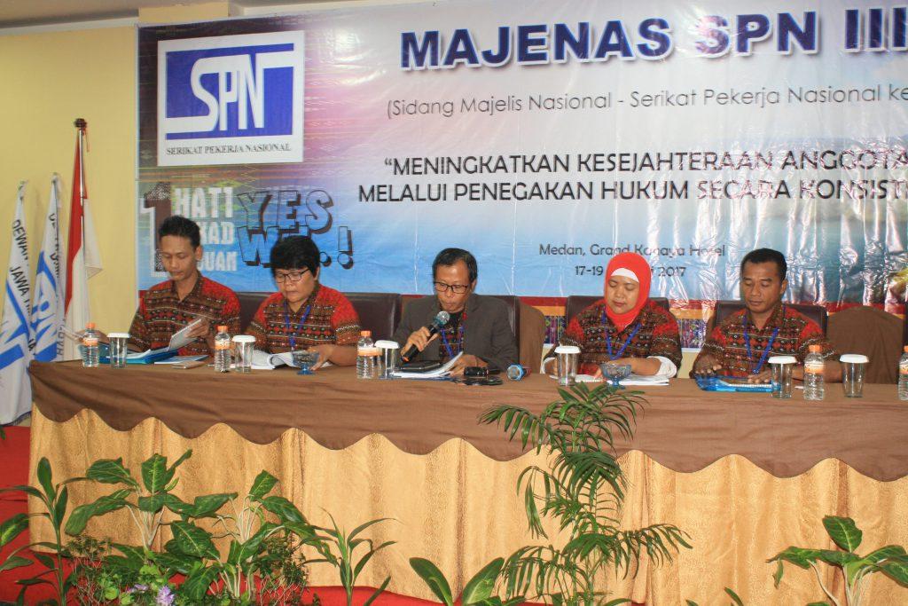 SIDANG MAJENAS SPN III