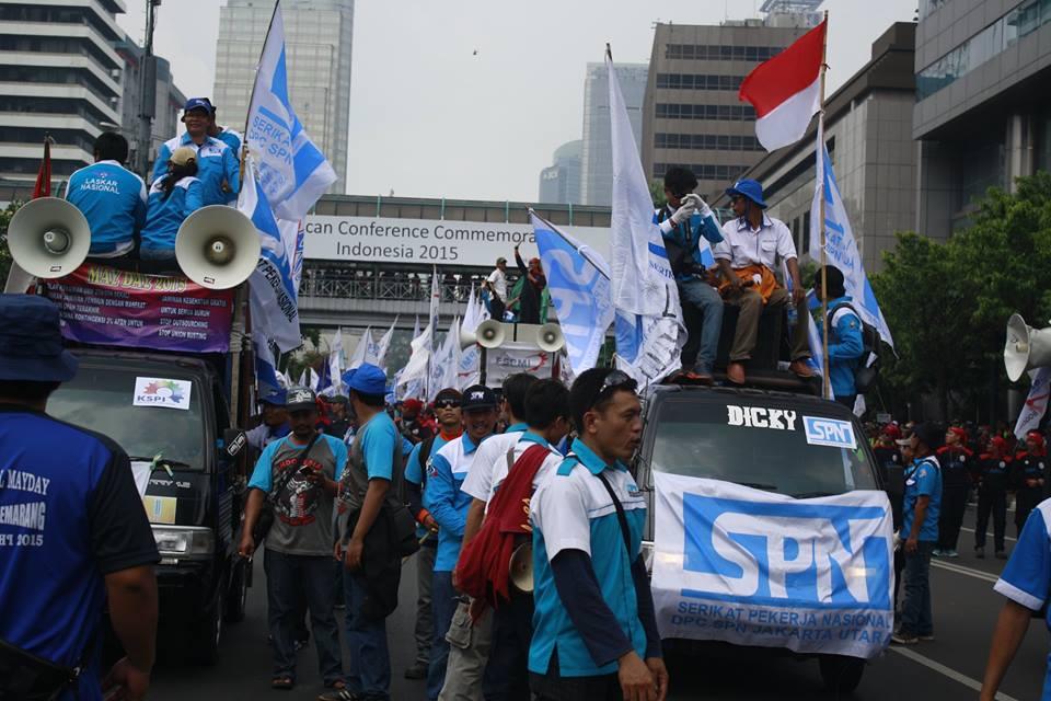Peringatan May Day 2015