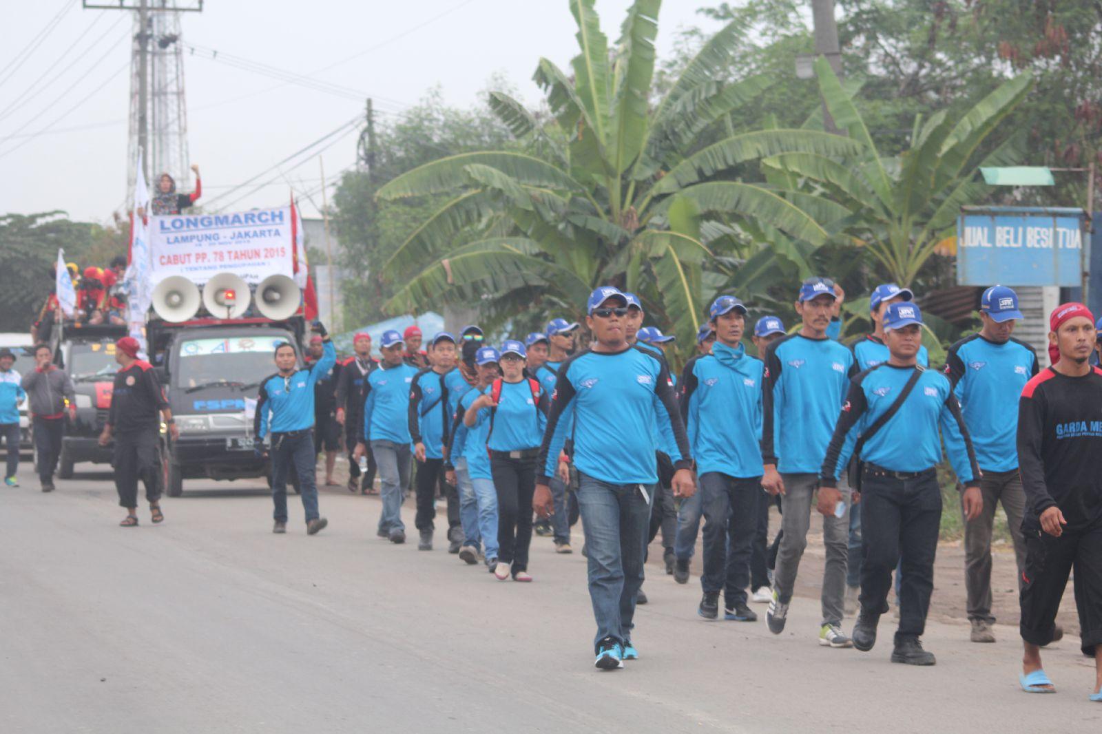Long march sebagai bentuk perlawanan
