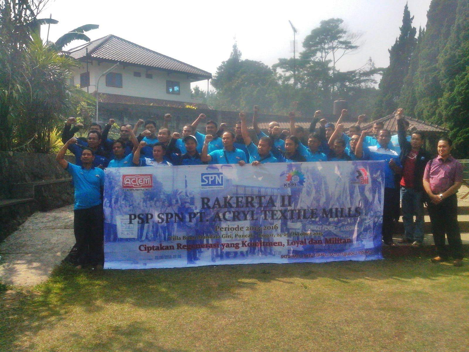 Rakerta II PSP SPN PT ACTEM kota Tanggerang
