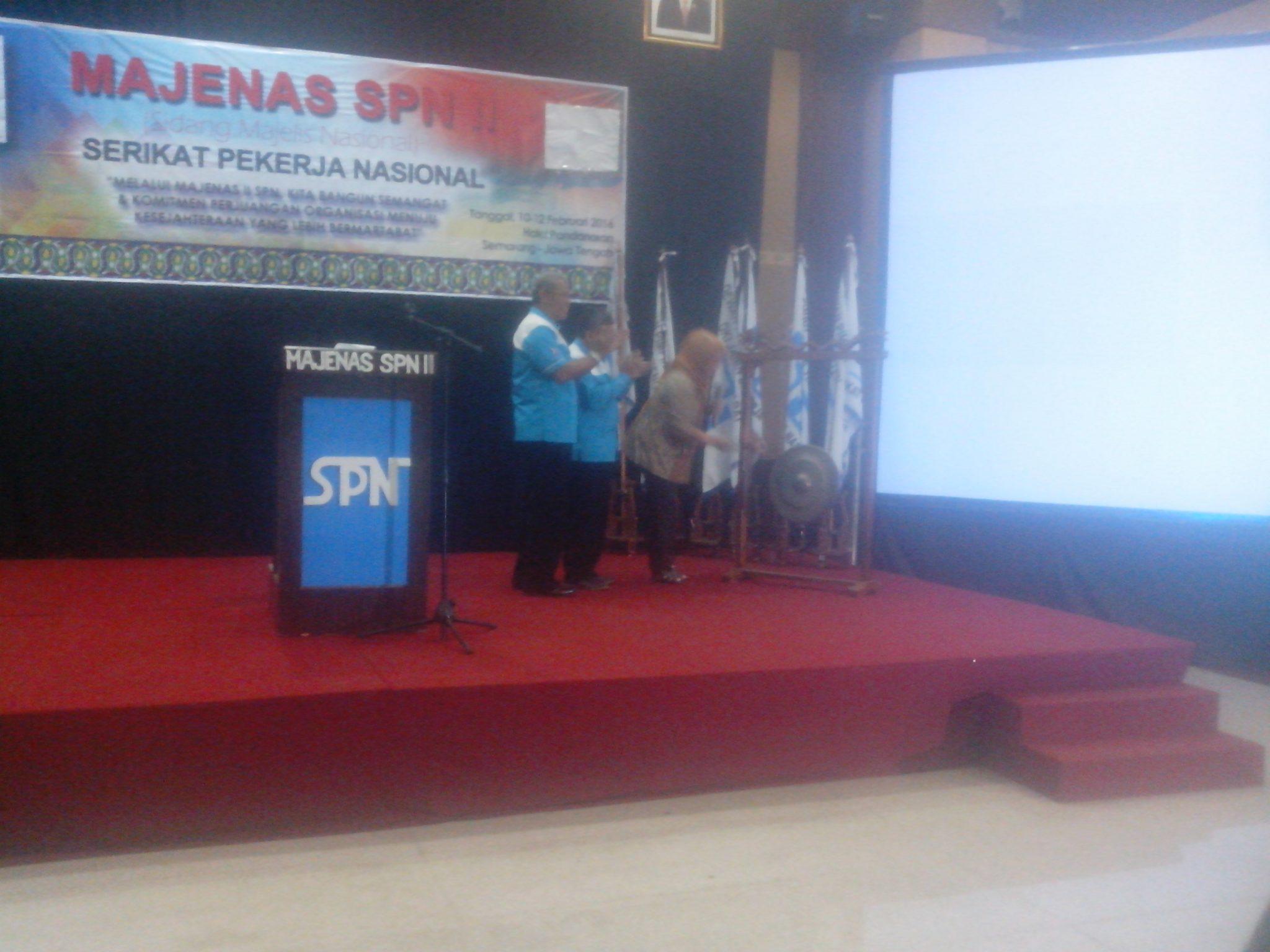 SIDANG MAJENAS SPN II