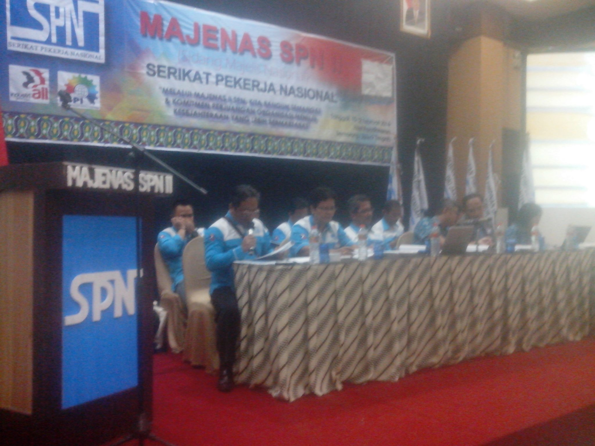 SIDANG PARIPURNA MAJENAS SPN II