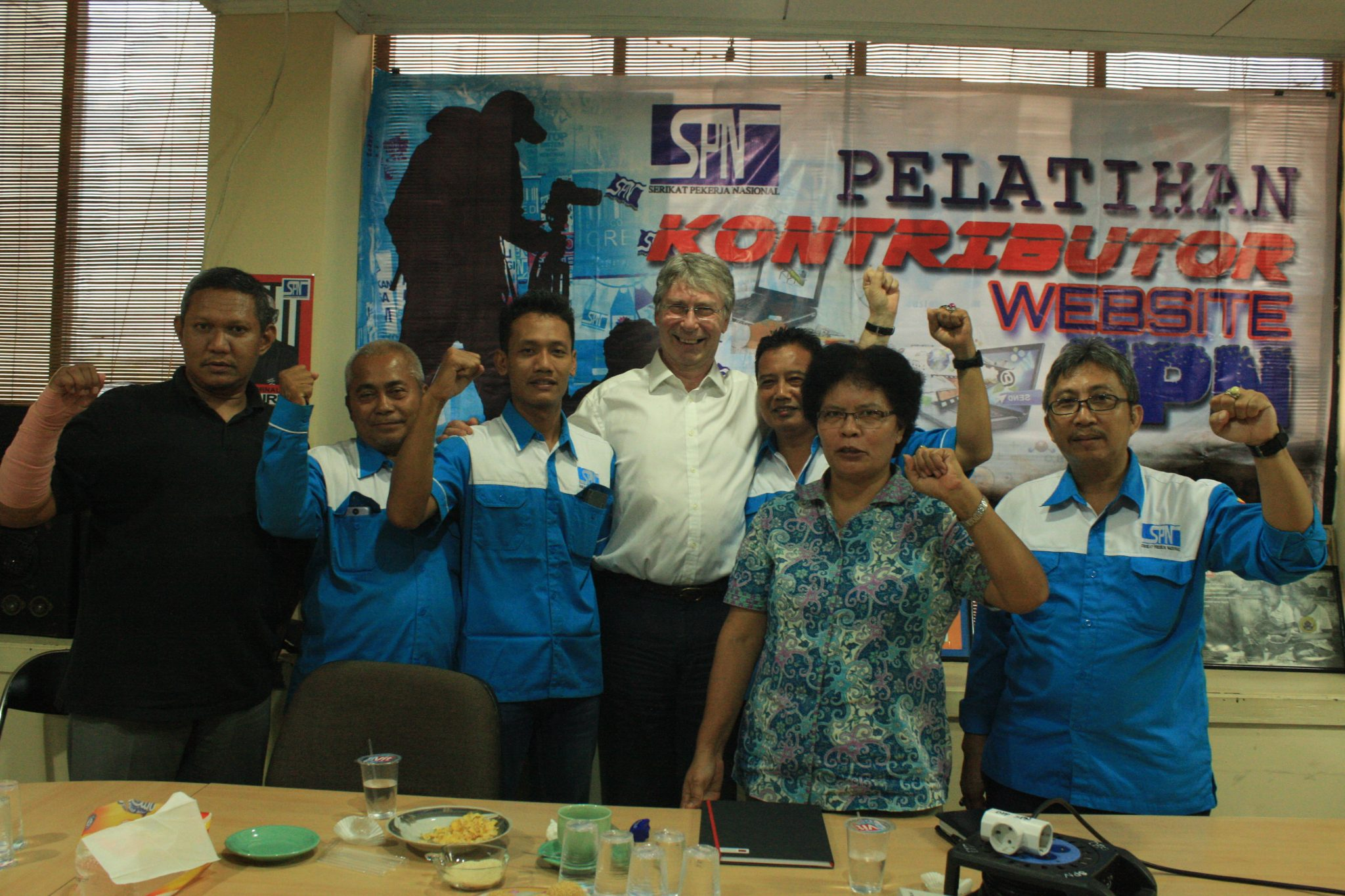 PERTEMUAN SPN DENGAN GLOBAL LABOUR INSTITUTE
