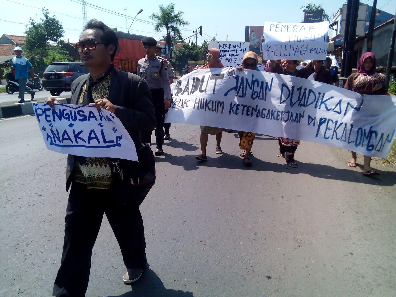 LONG MARCH SEBAGAI PROTES PSP SPN PT DUTATEX