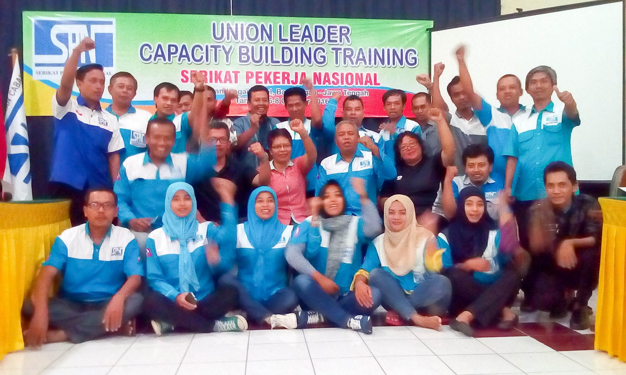 UNION LEADER CAPACITY BUILDING TRAINING