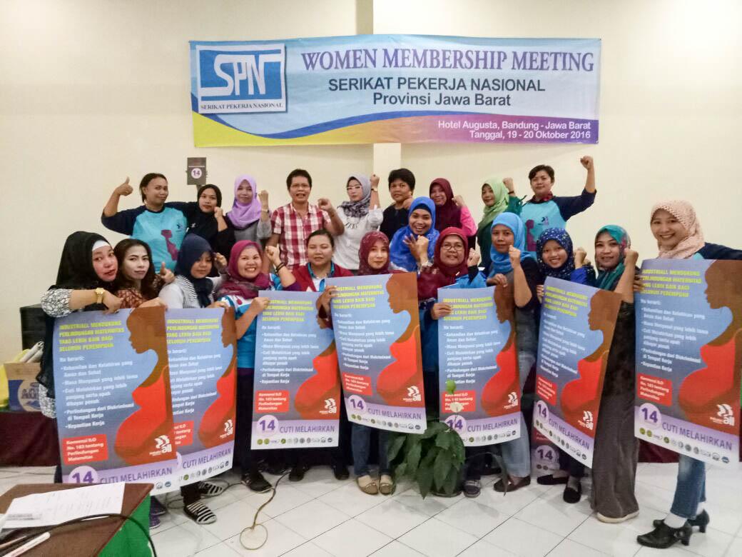 WOMEN MEMBERSHIP MEETING SPN JABAR