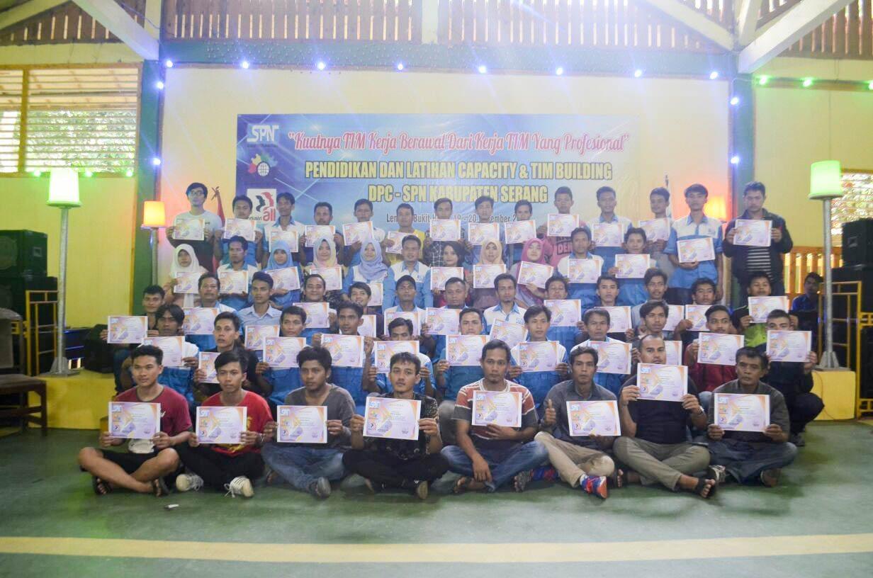 Enam PSP baru mengikuti Diklat Capacity Building DPC-SPN Kabupaten Serang