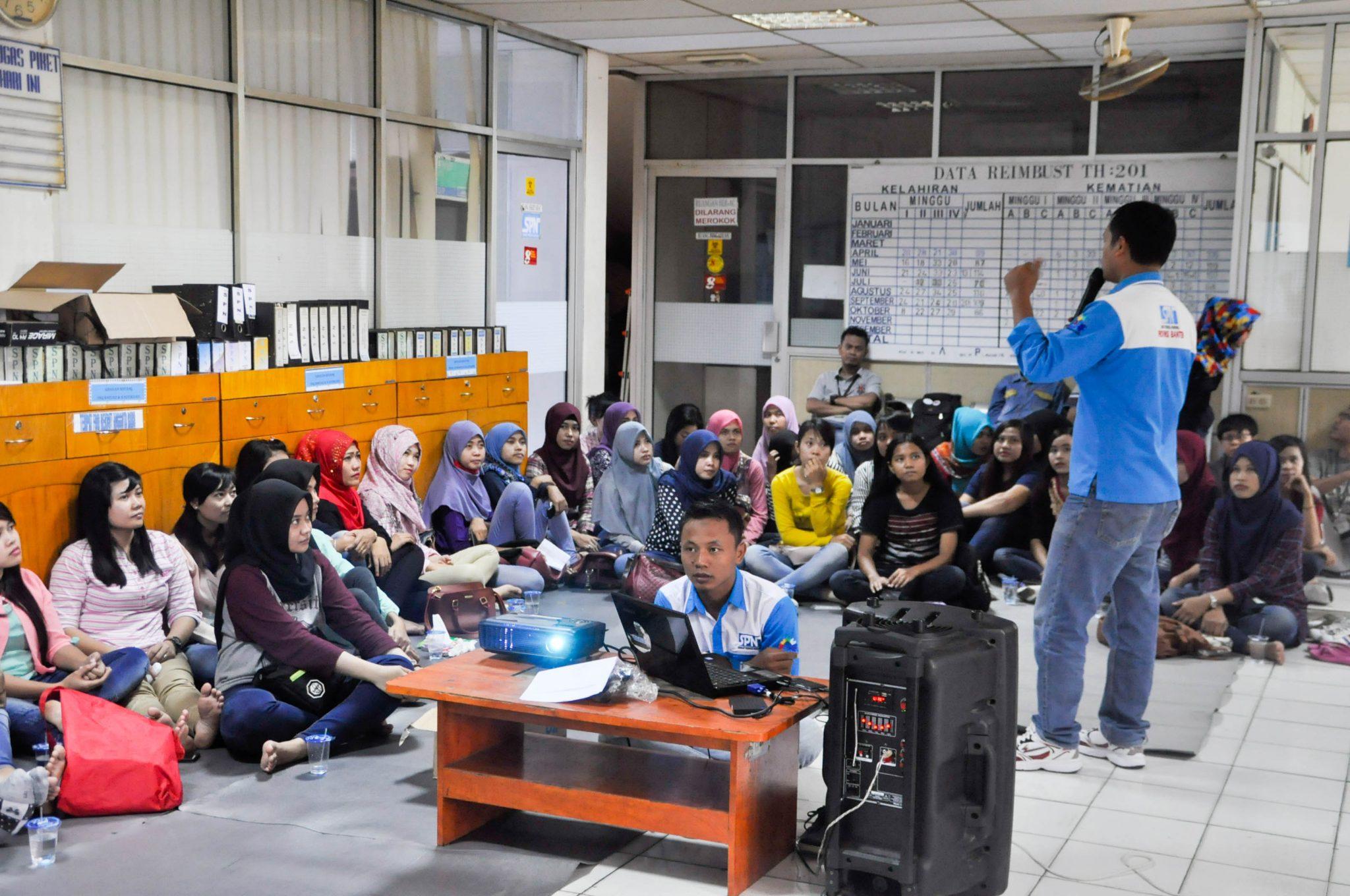 Pendidikan Organisasi Dasar PSP SPN PT Nikomas Gemilang