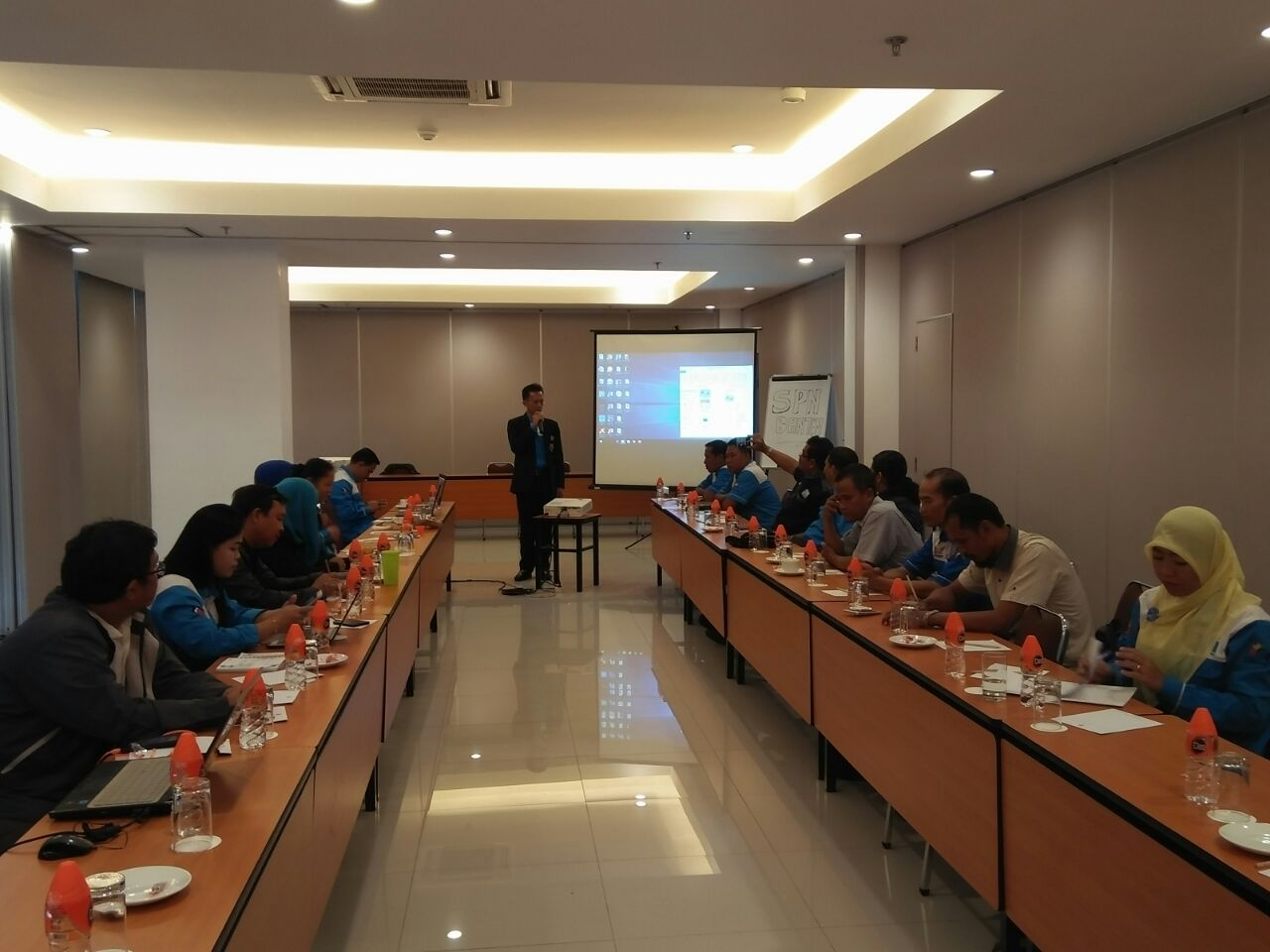 Workshop DPD SPN Propinsi Banten Pra Majenas SPN III