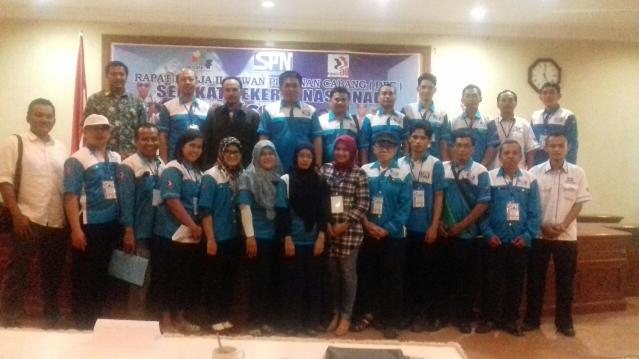 RAKERCAB II DPC SPN Kabupaten Semarang