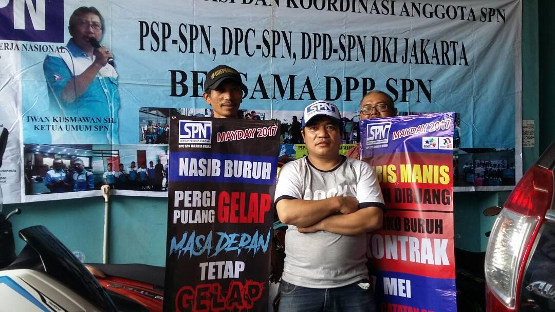 SPN DKI JAKARTA BERSIAP UNTUK PERINGATAN MAY DAY 2017