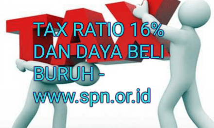 TAX RATIO 16% DAN DAYA BELI BURUH