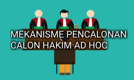 MEKANISME PENCALONAN CALON HAKIM AD HOC