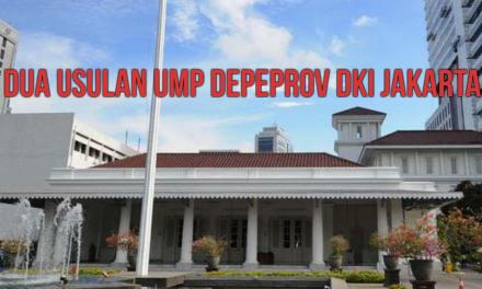 DUA USULAN UMP DEPEPROV DKI JAKARTA