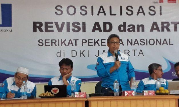 SOSIALISASI DRAFT PERUBAHAN AD/ART DI DKI JAKARTA