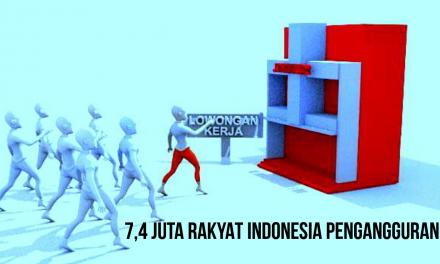 7,4 JUTA RAKYAT INDONESIA PENGANGGURAN