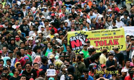 ALIANDO DEMO PERATURAN MENTERI PERHUBUNGAN NO 108/2017