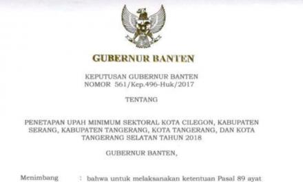 UMSK 2018 PROVINSI BANTEN DIGUGAT