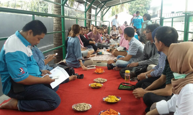 SURVEI FIELD WORK SAMPLING DI PSP SPN OSAGA MAS UTAMA