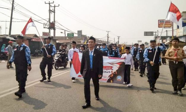MEMPERINGATI DIRGAHAYU REPUBLIK INDONESIA KE 73 ALA PSP SPN KAWASAN INDUSTRI PT NIKOMAS GEMILANG