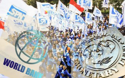 NASIB BURUH DIBALIK GEMERLAP ANNUAL MEETINGS IMF-WORLD BANK
