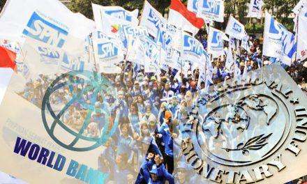 NASIB BURUH DIBALIK GEMERLAP ANNUAL MEETINGS IMF-WORLD BANK