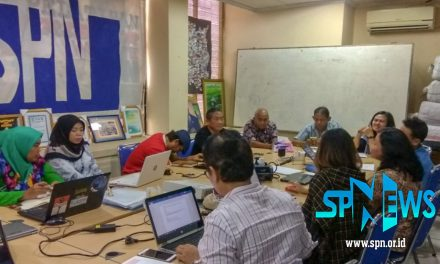 KOORDINASI FOCUS UP DENGAN DPP SPN