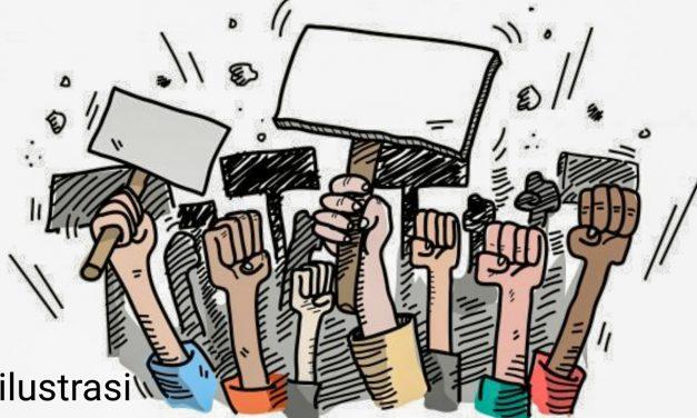 UPAH BELUM DIBAYAR, PEKERJA PT SAHABAT UNGGUL INTERNASIONAL DATANGI KANTOR WALIKOTA